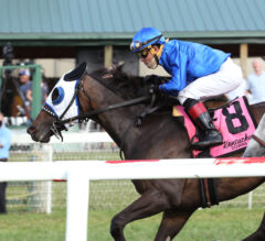 Micheline Rallies to Win Record-Setting Dueling Grounds Oaks