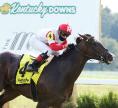 Ramsey Solution Wins Stakes Debut in Tapit