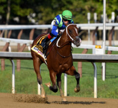 Jackie's Warrior Puts on a Show in Hopeful