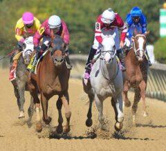 Laki Wins Three-Way Photo in De Francis Dash