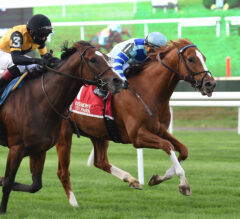Get Smokin fired up for gate-to-wire G2 Hill Prince win