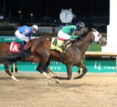 Keepmeinmind Breaks Maiden in Kentucky Jockey Club