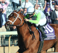 Monomoy Girl Wins Second Distaff Title, Will Return For 2021