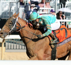 Fourth Time's the Charm for Whitmore in Sprint