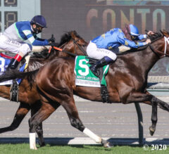 Smooth Like Strait Tops Shoemaker Mile Entries in Season's First Breeders' Cup Prep