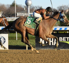 Honor Way secures second straight stakes win in $100K Garland of Roses