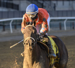 Bella Aurora rallies from last for upset victory in Interborough