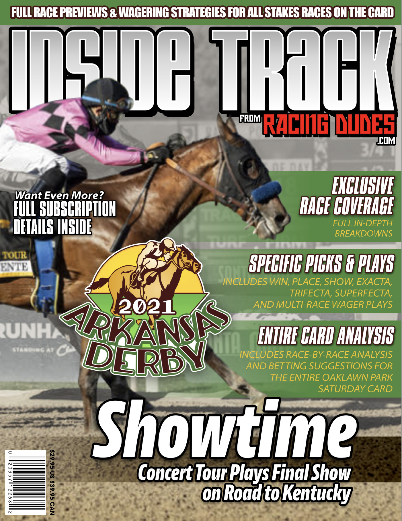 Inside Track to the 2021 Arkansas Derby