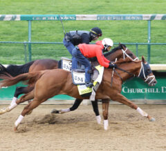 Keepmeinmind, Dynamic One Sharpest of Friday Workers for Kentucky Derby, Oaks