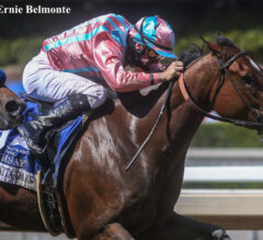 Soothsay Stretches Out Strongly in Santa Anita Oaks