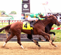 The Reds Floated Out, Into Federico Tesio Winner's Circle