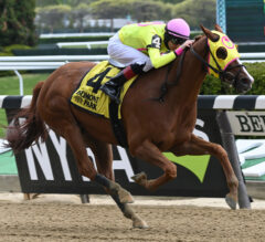 Musical Heart Parlays Consistency with Gate-to-Wire Win in Flat Out