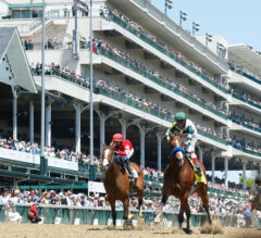 Gamine Becomes a Millionaire with Derby City Distaff Victory
