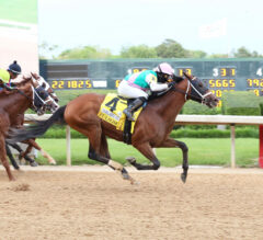 Fulsome Remains Unbeaten On Dirt With Oaklawn Stakes Victory