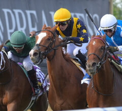 Alda Gives Velazquez Friday Stakes Triple in Hilltop