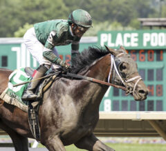 Dr Post Goes Wide, Surges Late To Win Monmouth Cup