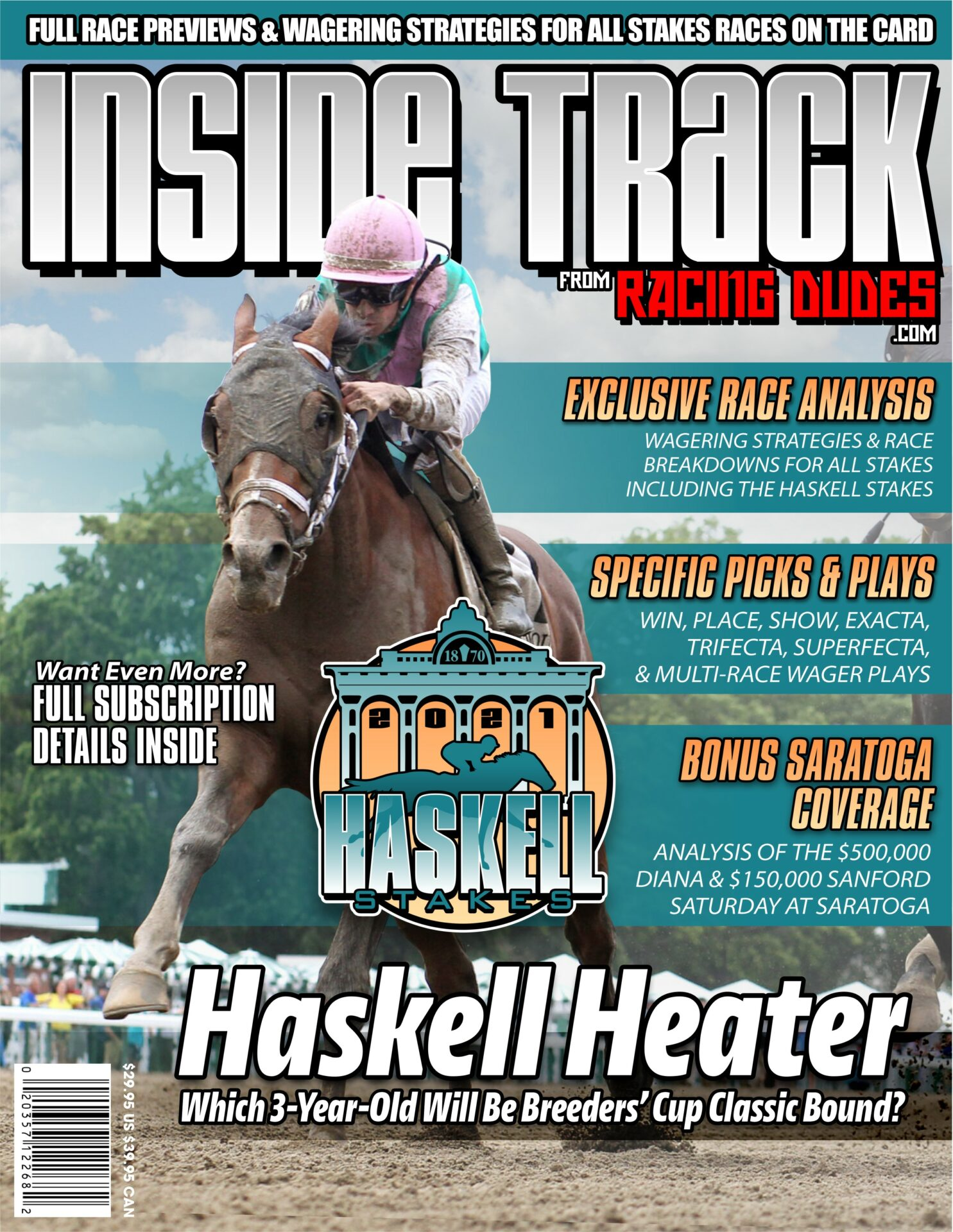 Inside Track to the 2021 Haskell Stakes