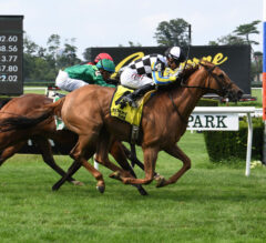 Call Me Love Closes Out Belmont Stakes Action In River Memories