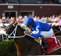 Rinaldi Continues Saratoga Success With Front-Running Forbidden Apple Victory