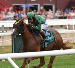 Chi Town Lady Bests Stablemate Poppy Flower In Bolton Landing